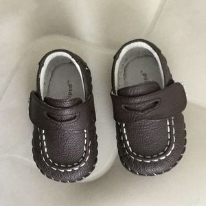 Pediped Baby boy brown shoes